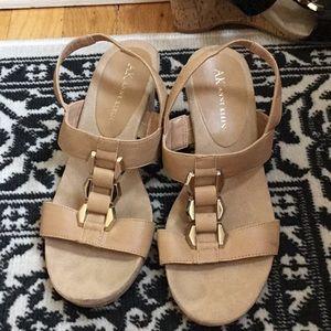 Anne Klein wedge heels